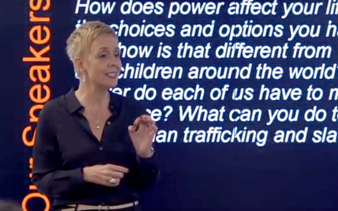 Video: Global CEO, Micaela Cronin's Talk on Combating Slavery